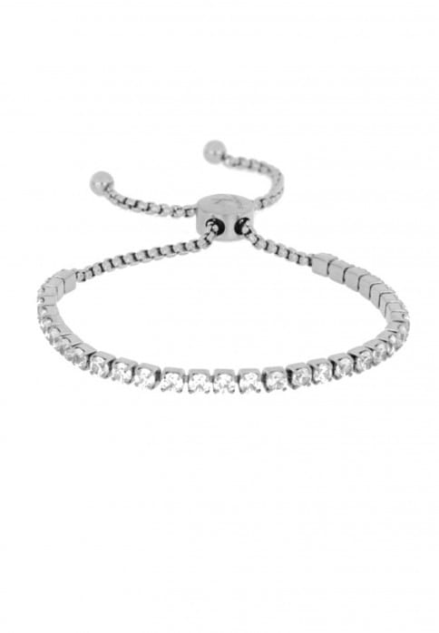 SURI FREY Armband Daisy Grau AB10909 stahlfarben