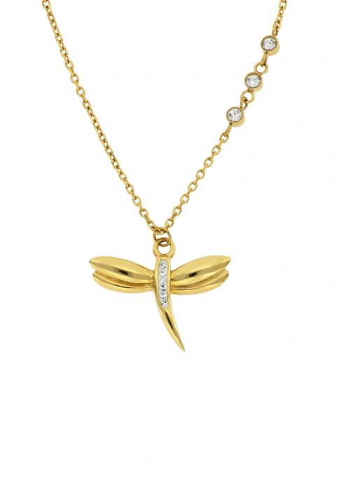 SURI FREY Ankerkette Lissy Gold 1016469 Edelstahl Gold