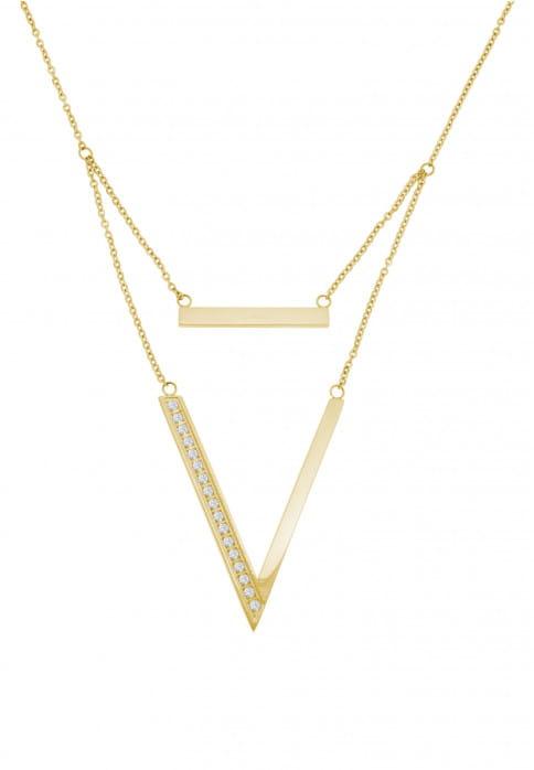 SURI FREY Ankerkette Vivy Gold 1016565 Edelstahl Gold