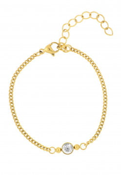 SURI FREY Armband Peggy Gold PA10328 IP Gold