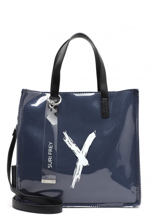 SURI FREY Shopper SURI Black Label Lizzy mittel Blau 16111500 blue 500