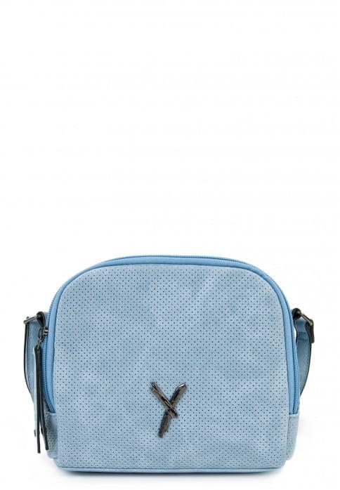 SURI FREY Handtasche mit Reißverschluss Romy Blau 11900530 lightblue 530