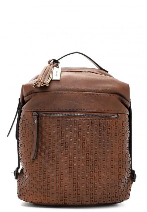 SURI FREY Rucksack Dorey mittel Braun 13056200 brown 200