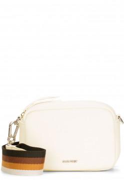 SURI FREY Handtasche mit Reißverschluss Bessy klein Grau 12381320 ecru 320