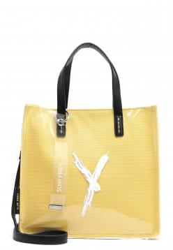 SURI FREY Shopper SURI Black Label Lizzy mittel Gelb 16111460 yellow 460