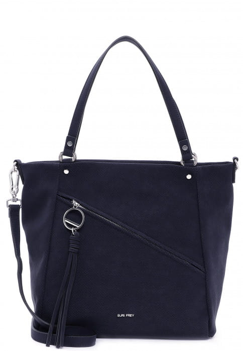 SURI FREY Shopper Holly groß Blau 12706500 blue 500