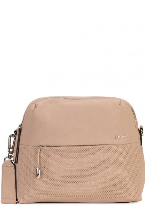 SURI FREY Handtasche mit Reißverschluss Romy Bevvy mittel Braun 12172900 taupe 900