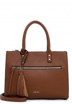 SURI FREY Shopper Netty mittel Braun 12692700 cognac 700
