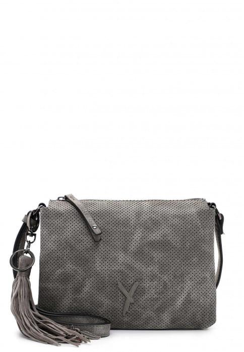SURI FREY Handtasche mit Reißverschluss Romy klein Grau 11584840 darkgrey 840
