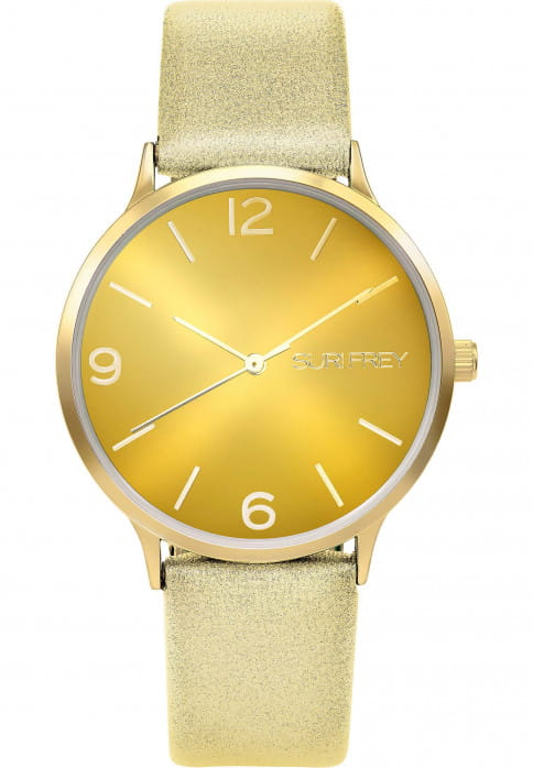 SURI FREY Damenuhr Roxy Gold 6027 gold