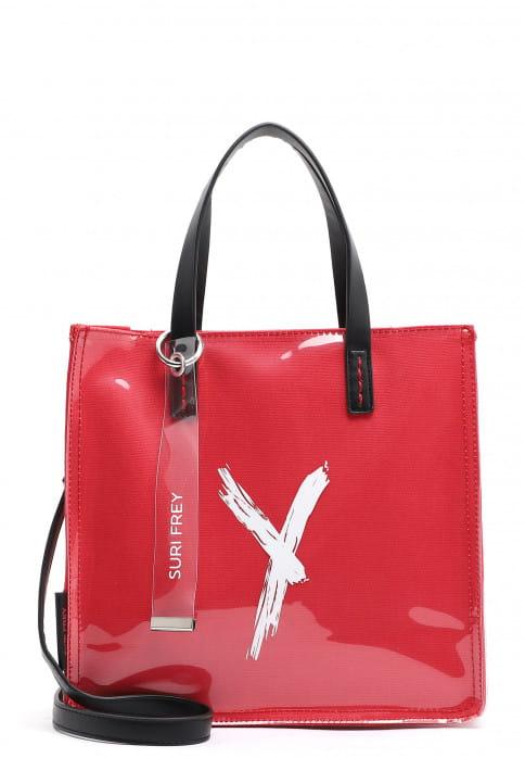 SURI FREY Shopper SURI Black Label Lizzy mittel Rot 16111600 red 600